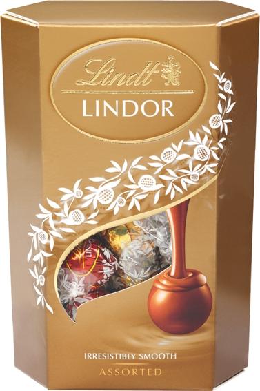 Lindt Lindor шоколадные конфеты ассорти, 337 г