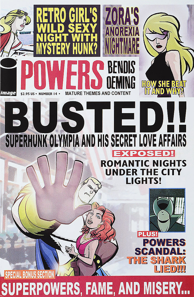 Brian Michael Bendis, Michael (Mike) Avon Oeming Powers #14 brian michael bendis