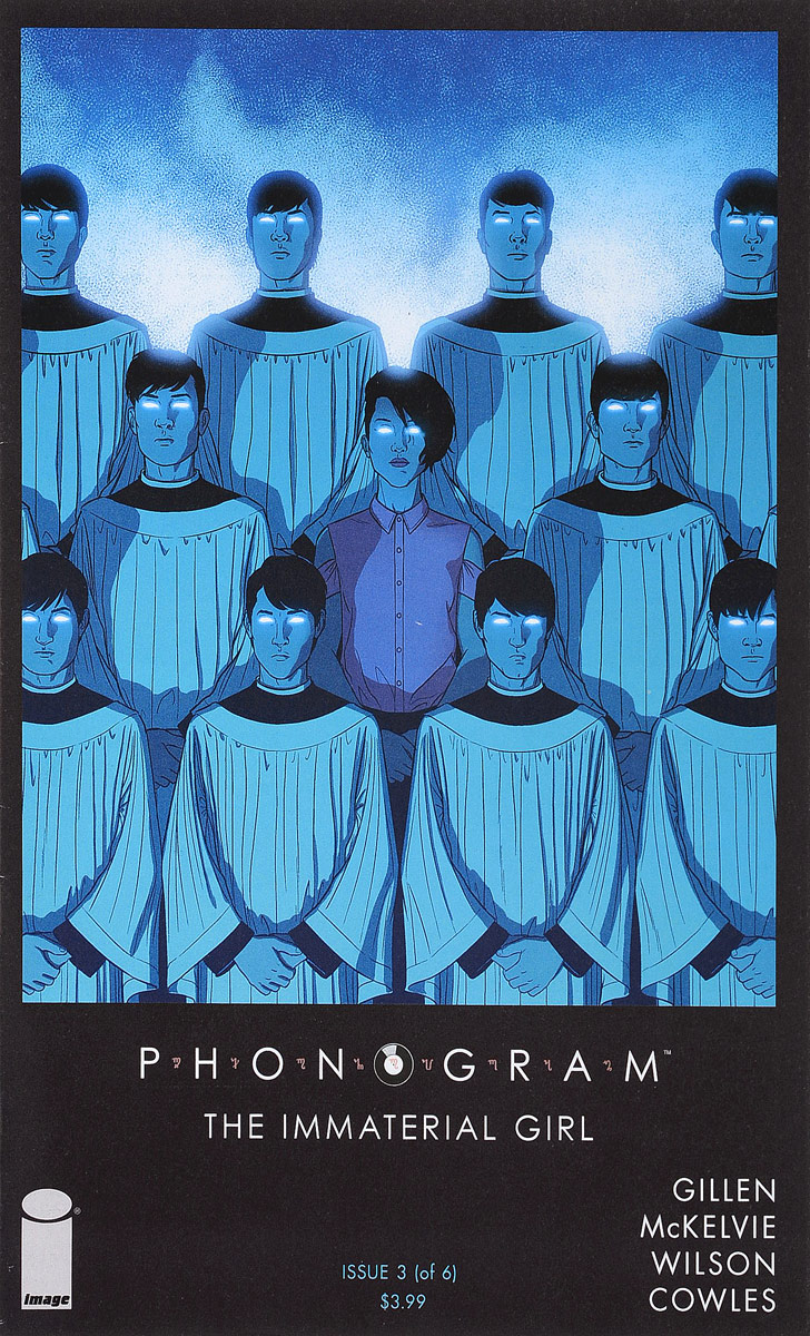 Kieron Gillen, Jamie McKelvie, Matthew Wilson Phonogram: The Immaterial Girl #3 покрывало на кресло les gobelins mexique 50 х 120 см