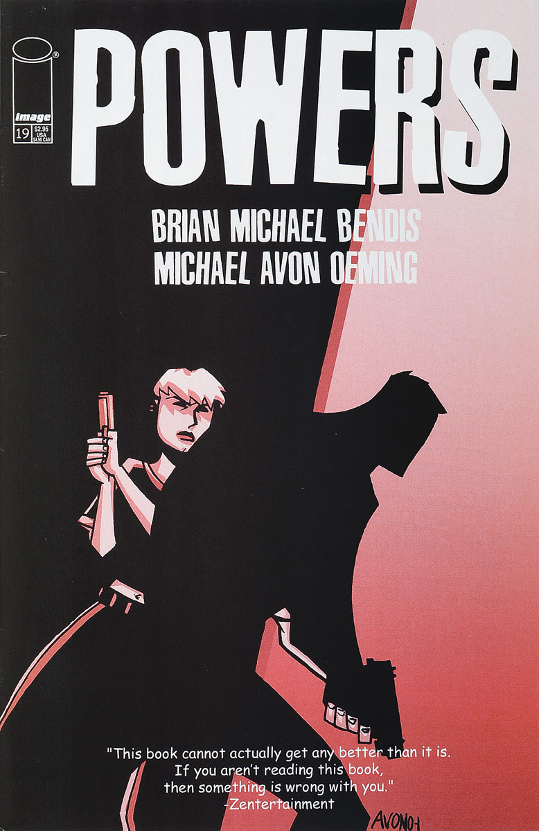 Brian Michael Bendis, Michael (Mike) Avon Oeming Powers #19 brian michael bendis
