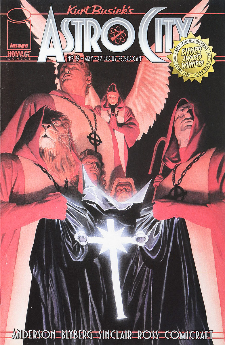 Brent Anderson, Will Blyberg Kurt Busiek's Astro City #9 astro city confession