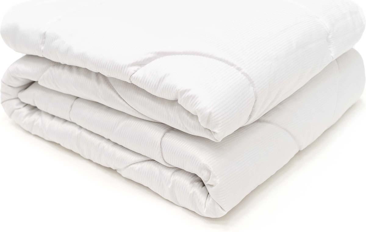 Одеяло Сlassic by T Soft Wool, наполнитель: овечья шерсть, полиэфирное волокно, цвет: белый, 140 х 200 см одеяло сlassic by t белый чай наполнитель полиэфирное волокно цвет голубой 140 х 200 см