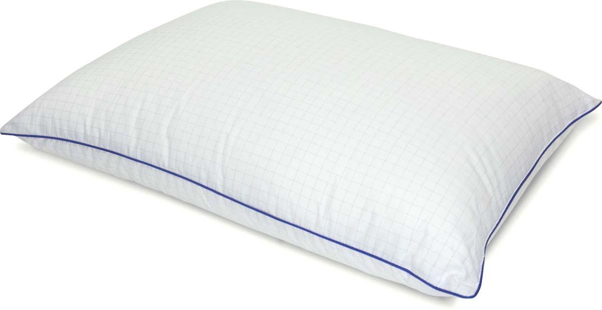 Подушка Сlassic by T Релакс, наполнитель: микроволокно, цвет: белый, 50 х 70 см подушка dargez виктория 50 х 70 см