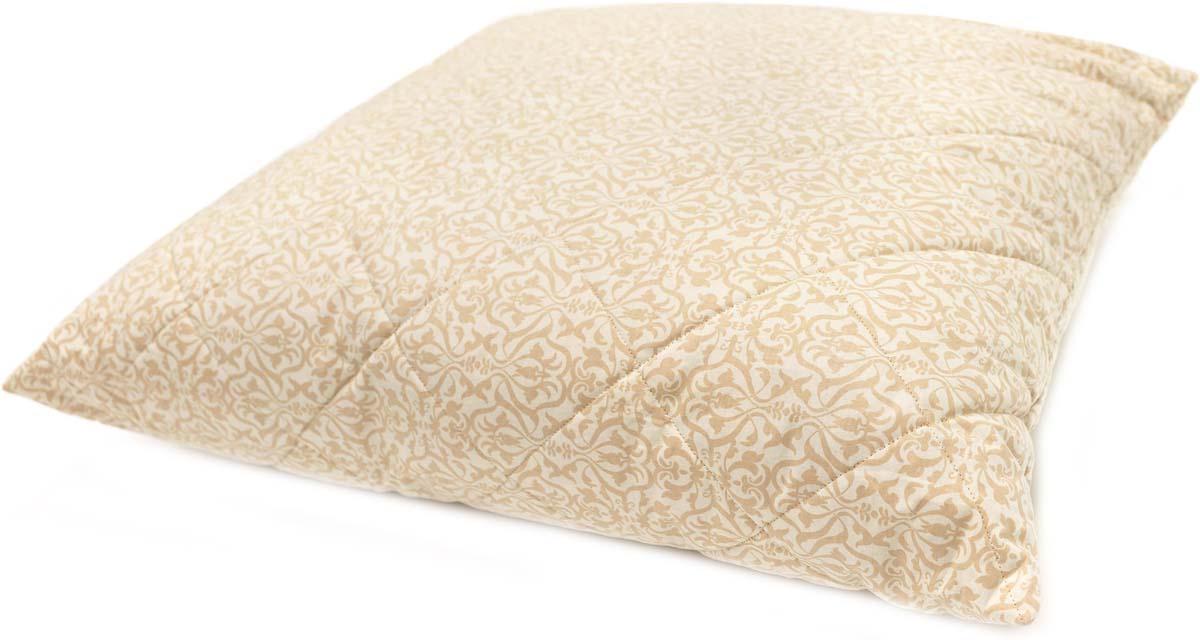 Подушка Сlassic by T Ренессанс, наполнитель: полиэфирное волокно, цвет: экрю, 70 х 70 см подушка сlassic by t саванна стеганая наполнитель полиэфирное волокно цвет экрю 70 х 70 см