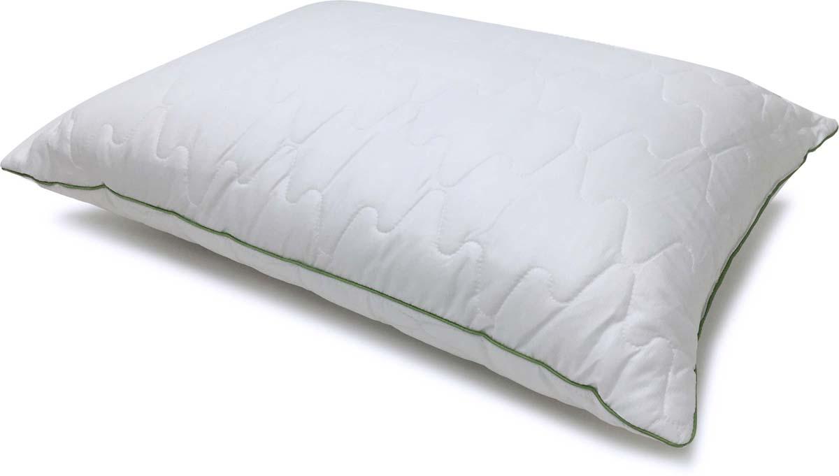 Подушка Сlassic by T Eucalyptus, стеганая, наполнитель: полиэфирное волокно, цвет: белый, 50 х 70 см цена