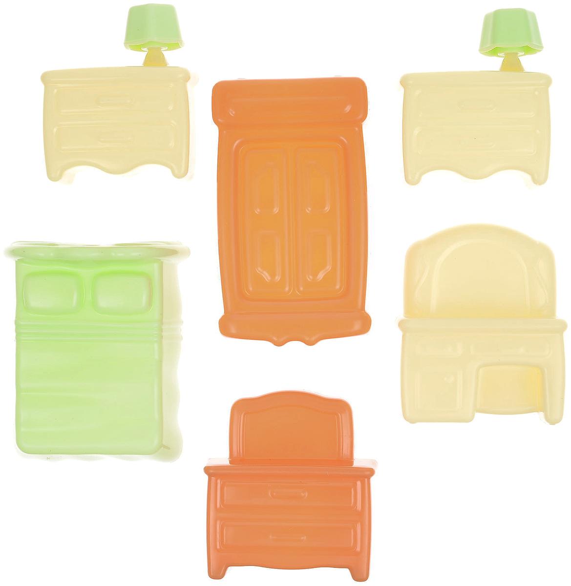 Фото - Полесье Набор мебели для кукол №1, цвет в ассортименте полесье набор игрушек для песочницы 468 цвет в ассортименте