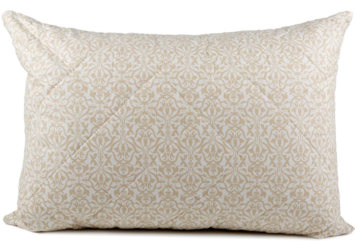 Подушка Сlassic by T Ренессанс, наполнитель: полиэфирное волокно, цвет: экрю, 50 х 70 см подушка сlassic by t саванна стеганая наполнитель полиэфирное волокно цвет экрю 70 х 70 см