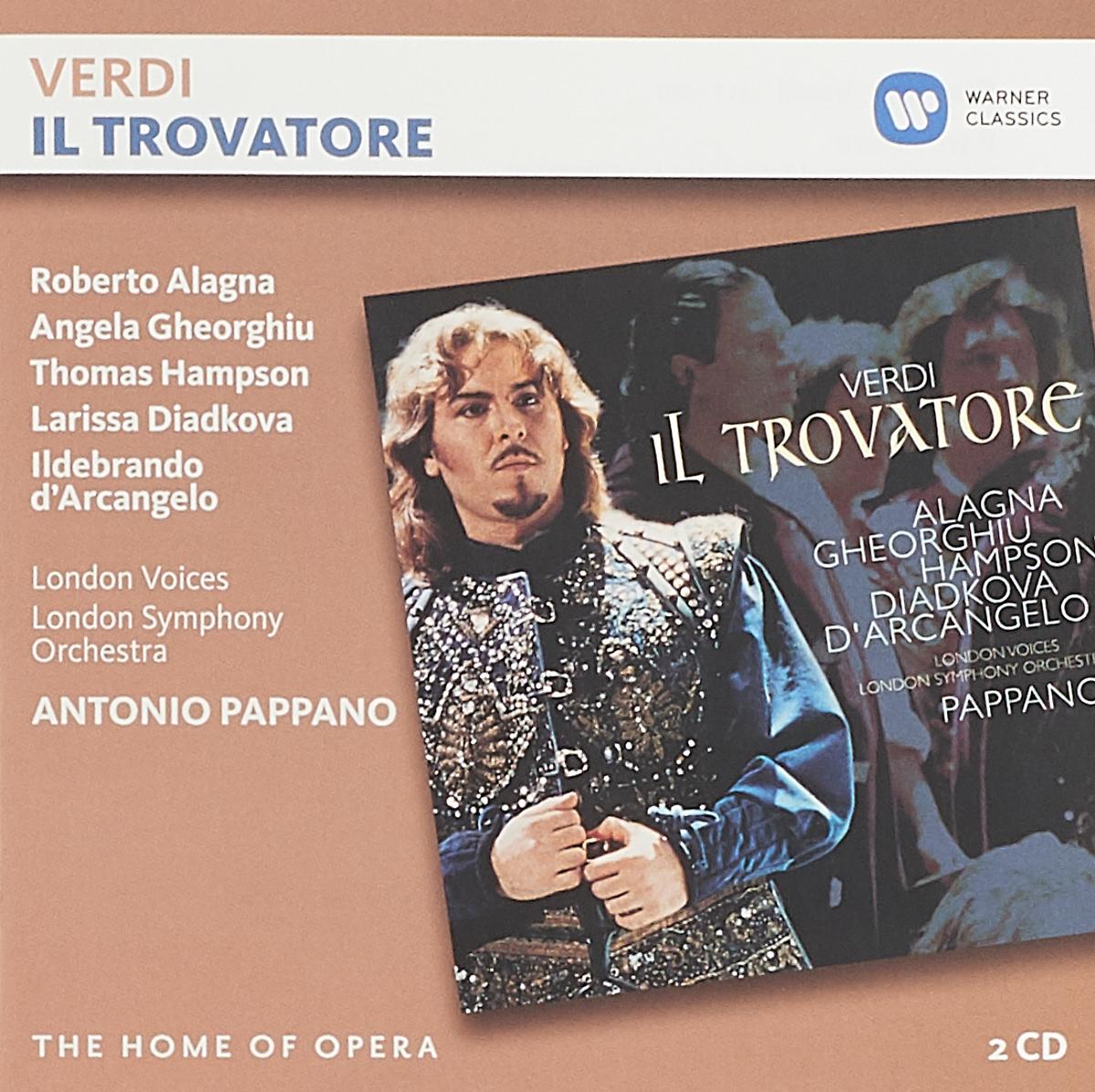 Джузеппе Верди G. Verdi. Il Trovatore (2 CD) verdi il trovatore blu ray