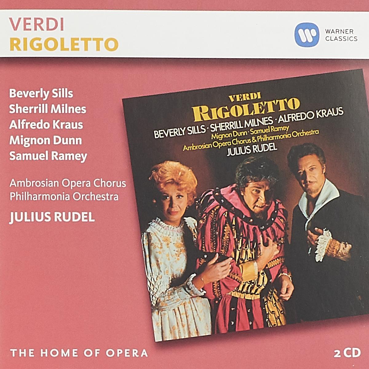 Julius Rudel. Verdi. Rigoletto (2 CD) a c oury rigoletto fantasie