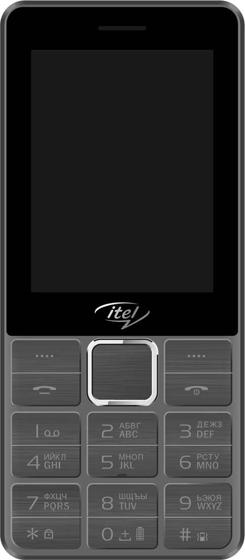 Мобильный телефон ITEL IT5630 DS Calx мобильный телефон itel itel it5630 champagne gold