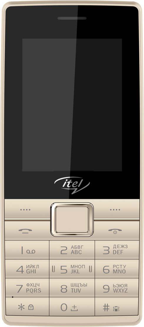 лучшая цена Мобильный телефон ITEL IT5070, бежевый, золотой