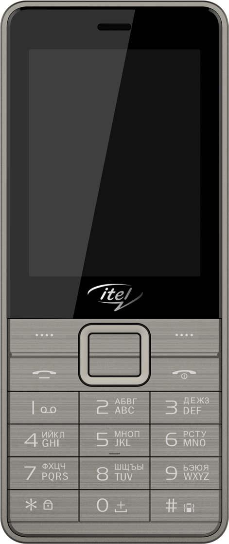 лучшая цена Мобильный телефон ITEL IT5030, бронзовый, серый