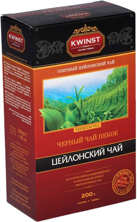 Kwinst Рекое чай черный листовой, 200 г цена