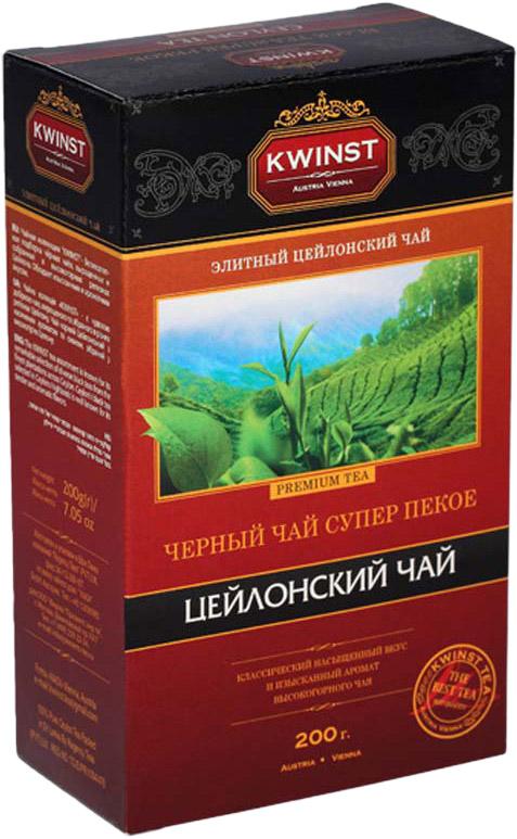 Kwinst Super Pekoe чай черный листовой, 200 г цена
