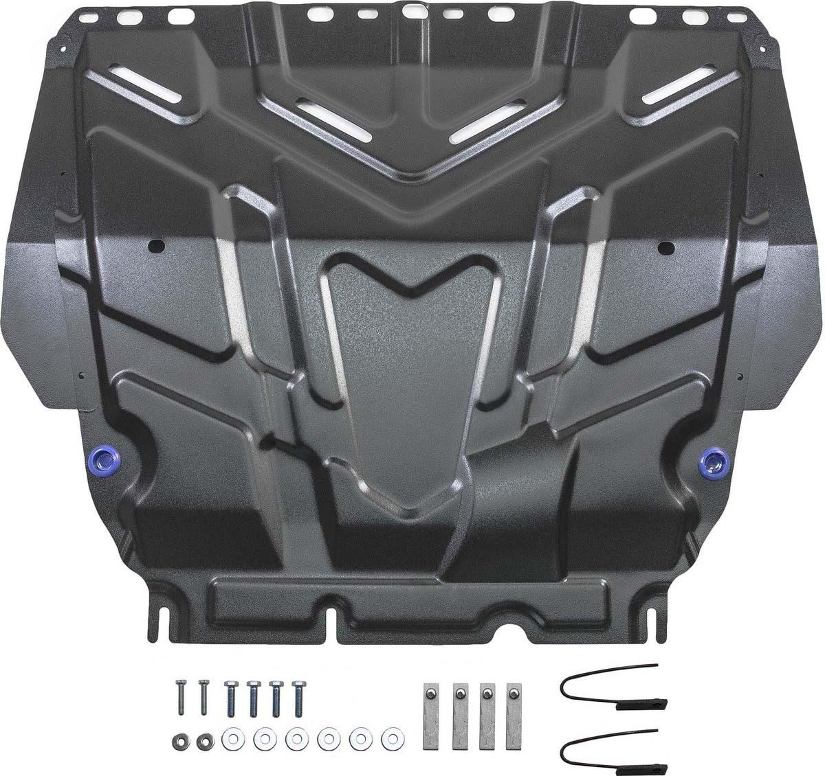 Защита картера и КПП Rival для Ford C-Max I 2003-2010/Focus II, III 2005-2011 2011-2015 2015-н.в./Grand C-Max II 2010-2015/Kuga I 2008-2013, сталь 2 мм, с крепежом. 111.1850.1 surkov v texts 1997 2010