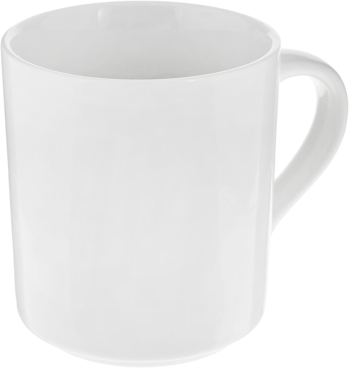 Кружка Wilmax, цвет: белый, 350 мл кружка wilmax 280 мл