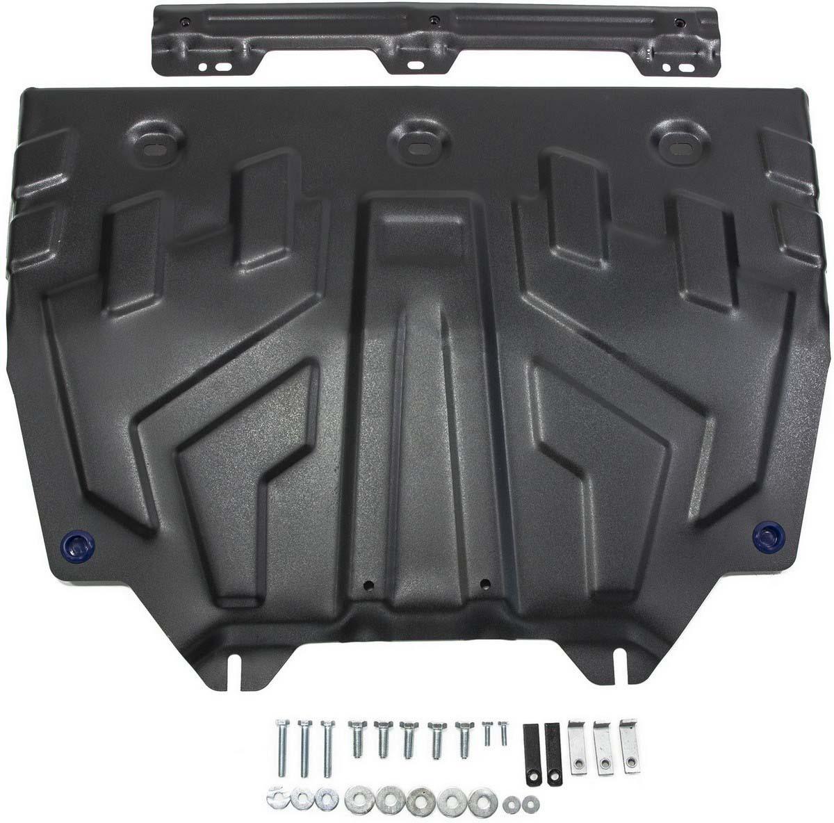 Защита картера и КПП Rival (увеличенная) для Mazda 3 BM 2013-2018/6 GJ 2012-2015 2015-2018 2018-н.в./CX-5 I, II 2011-2015 2015-2017 2017-н.в./CX-9 II 2017-н.в., сталь 2 мм, с крепежом. 111.3817.1 blue fuel injector nozzle l3k9 13 250 for 2006 2013 mazda 3 6 cx 7 2 3l l3k913250