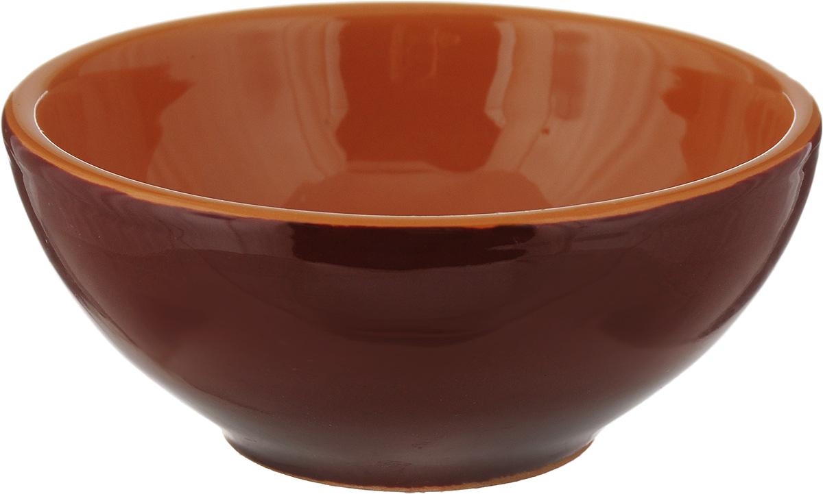Розетка для варенья Борисовская керамика Радуга, цвет: коричневый, 200 мл розетка для варенья борисовская керамика радуга цвет голубой 200 мл