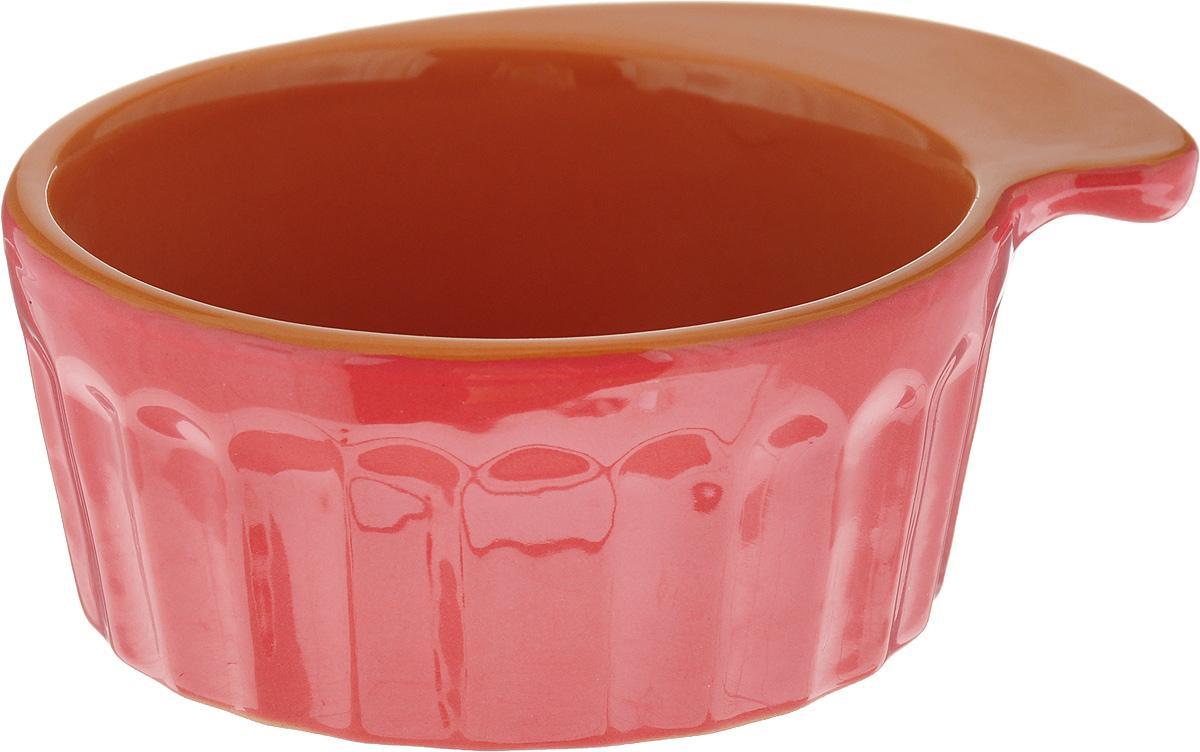Кокотница Борисовская керамика Ностальгия, цвет: красный, 200 мл. РАД14457899 кокотница борисовская керамика ностальгия цвет оранжевый 200 мл рад14457899