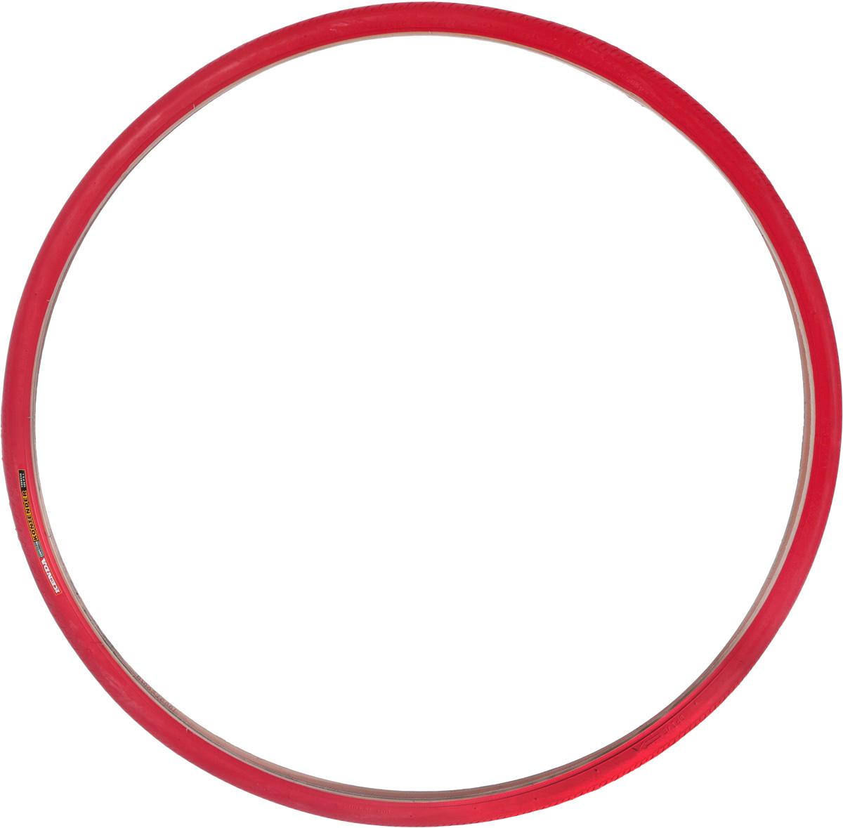 Велопокрышка Kenda 700x23C, K196, Kontender, L3RPRO, 60tpi, красный