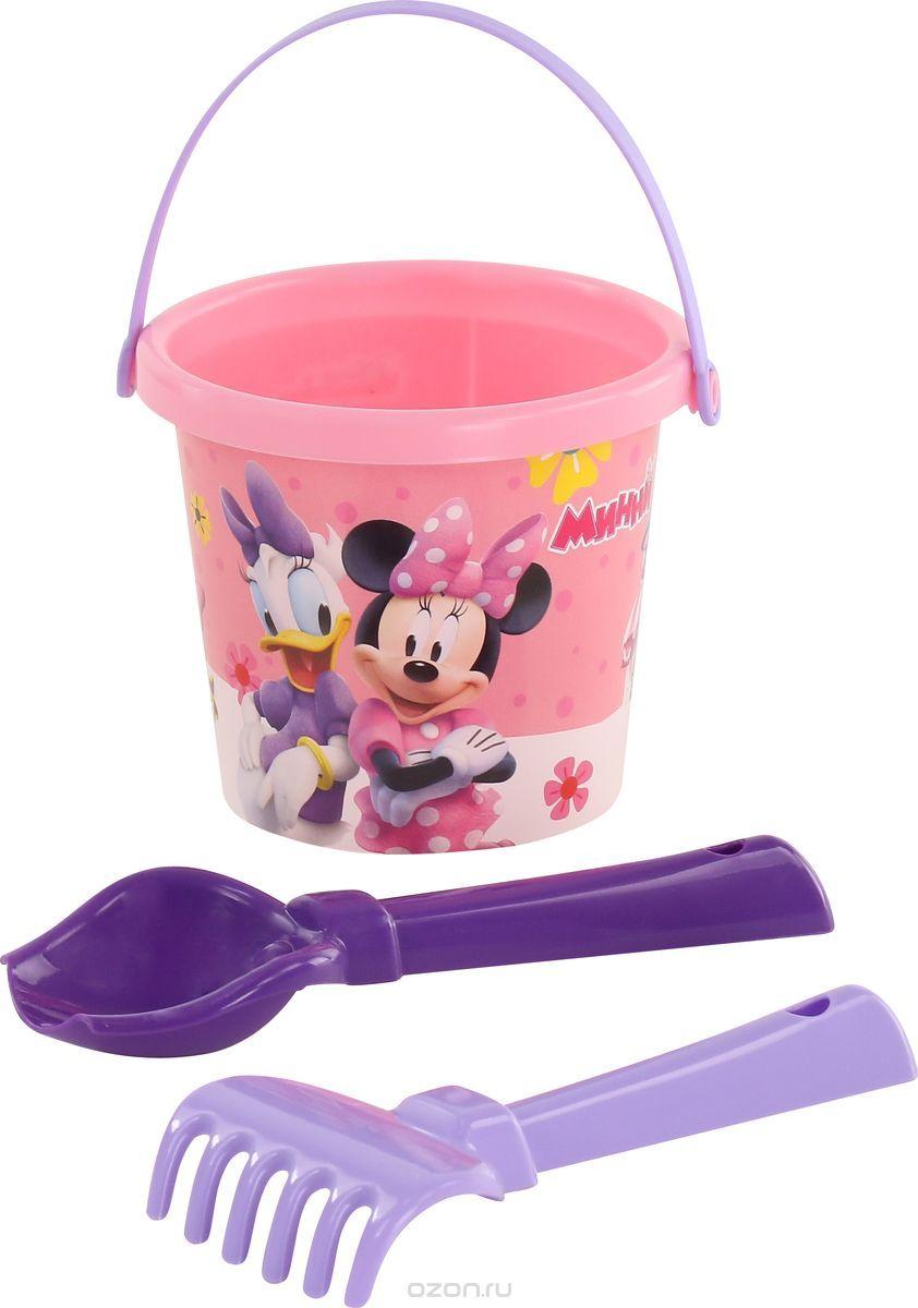 Disney Набор игрушек для песочницы Минни №1, цвет в ассортименте disney набор игрушек для песочницы минни 4 цвет в ассортименте