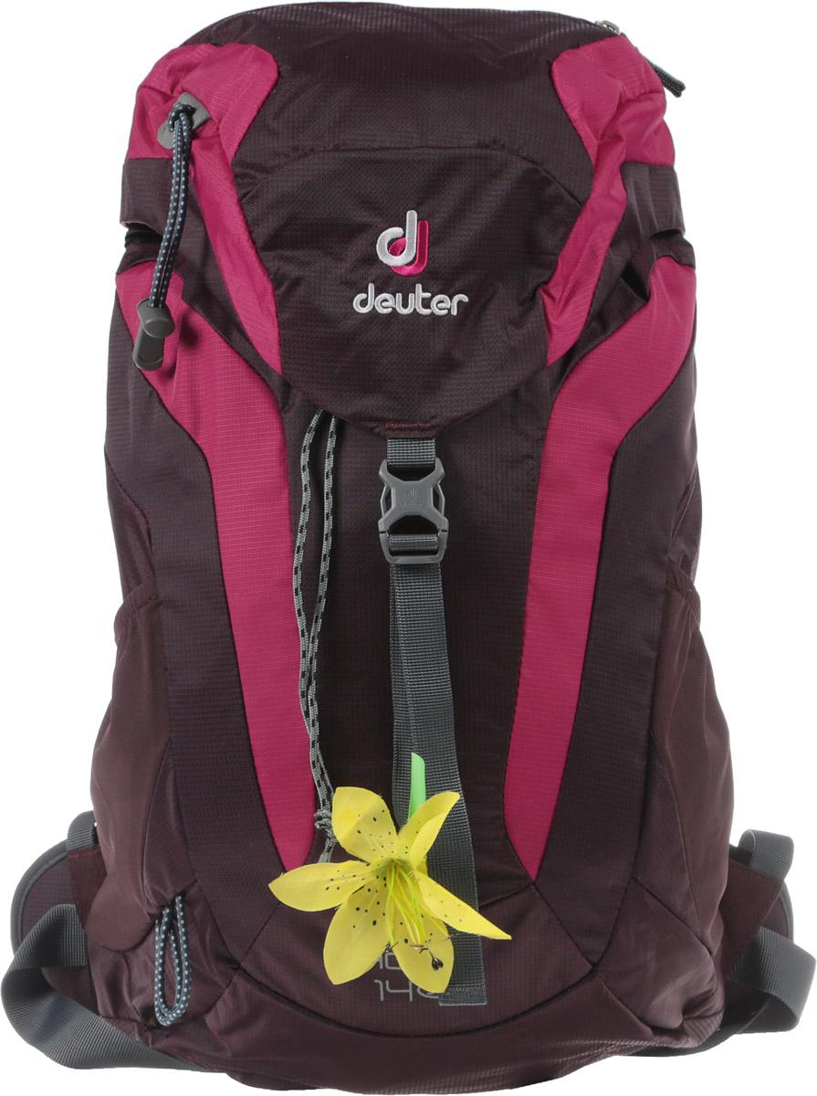 Рюкзак туристический Deuter AC Lite, цвет: фиолетовый, 14 л цена