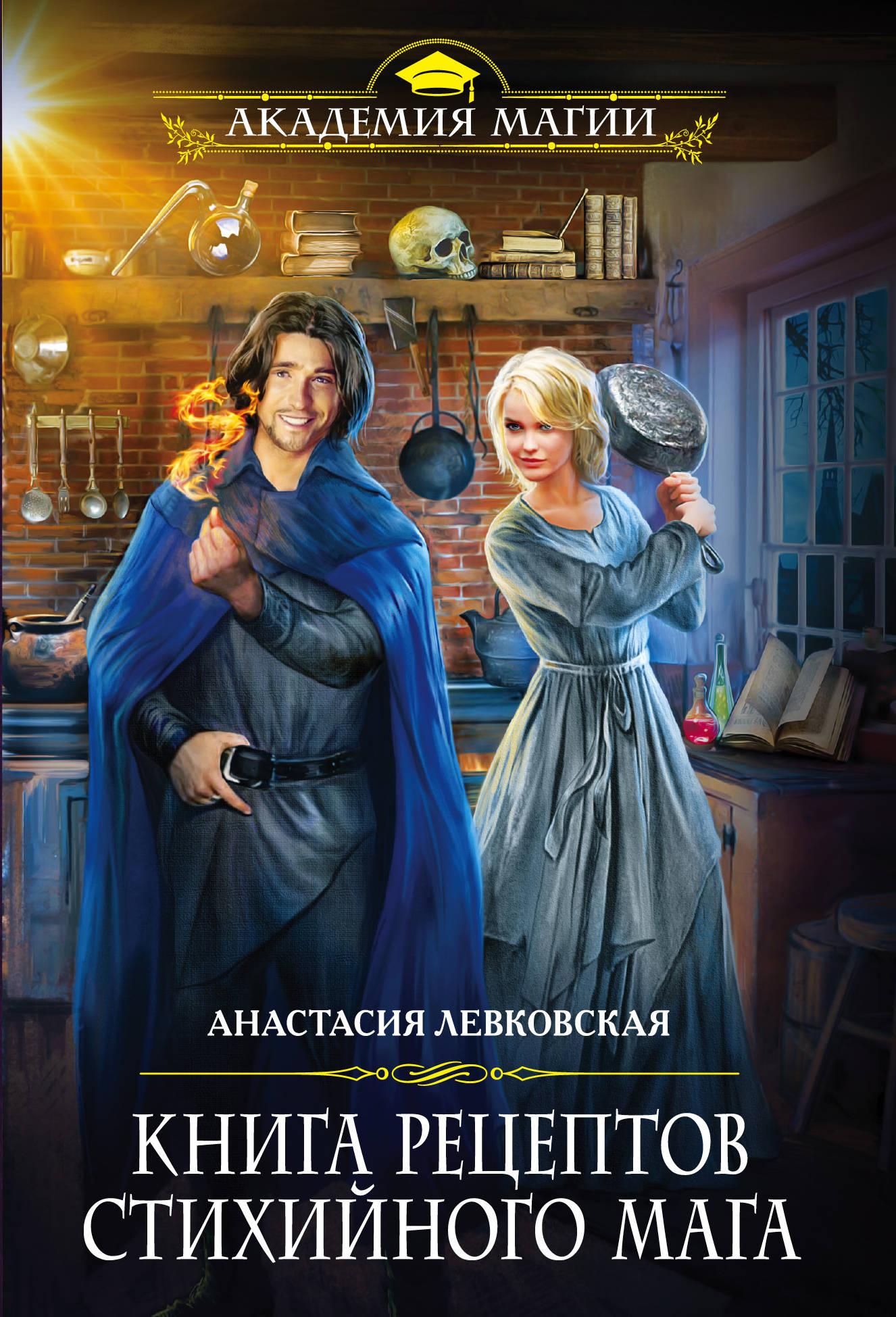 Анастасия Левковская Книга рецептов стихийного мага