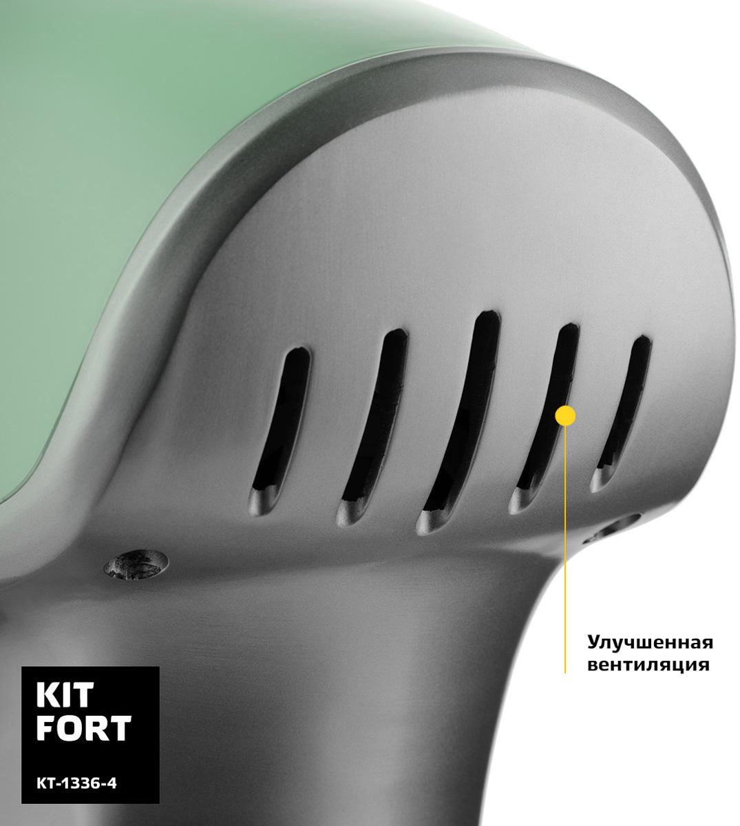 Миксер Kitfort КТ-1336-4, Green планетарный Kitfort