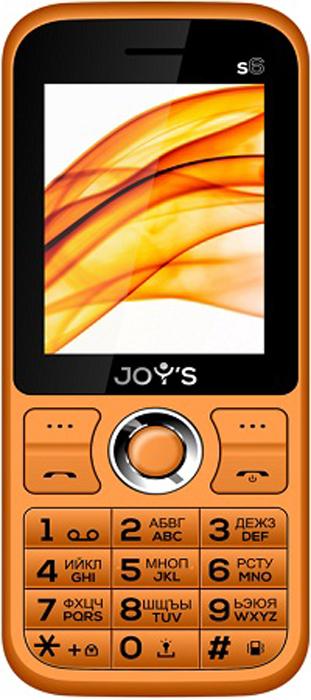 Мобильный телефон Joys S6 DS, оранжевый