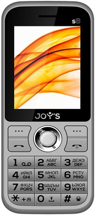 Мобильный телефон Joys S6 DS, серый