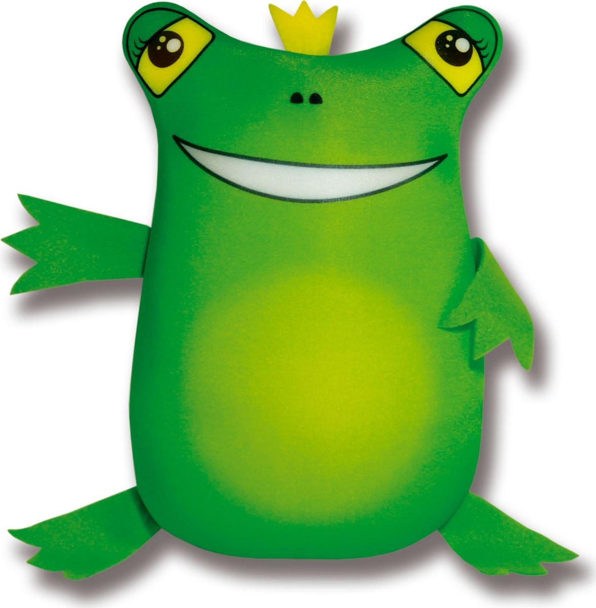 Подушка-игрушка Штучки, к которым тянутся ручки антистрессовая Царевна лягушка, зеленый