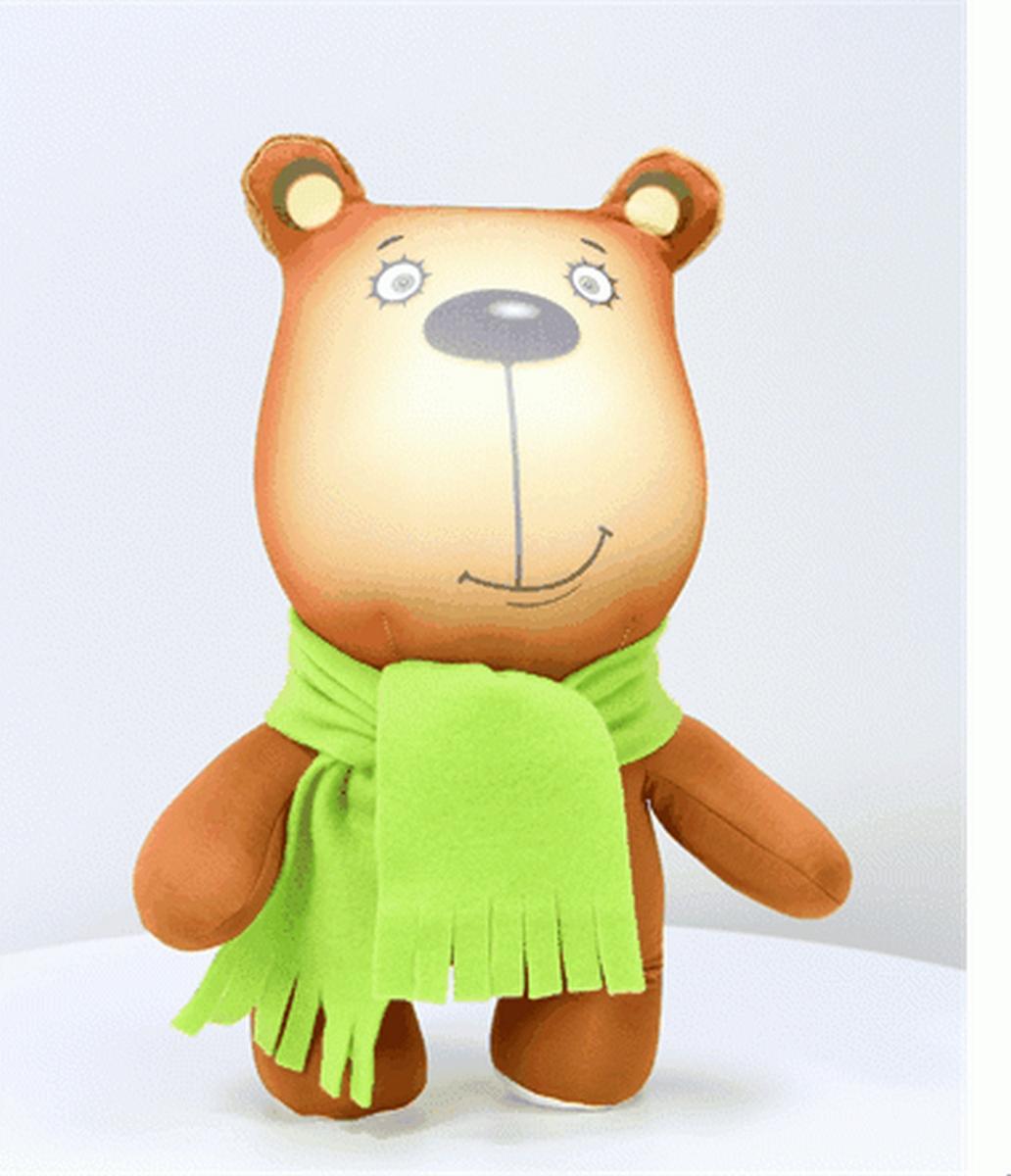 Игрушка антистресс Штучки, к которым тянутся ручки Звери в шарфах Медведь игрушка антистресс штучки к которым тянутся ручки лиса открытка в ассортименте 18асо03ив