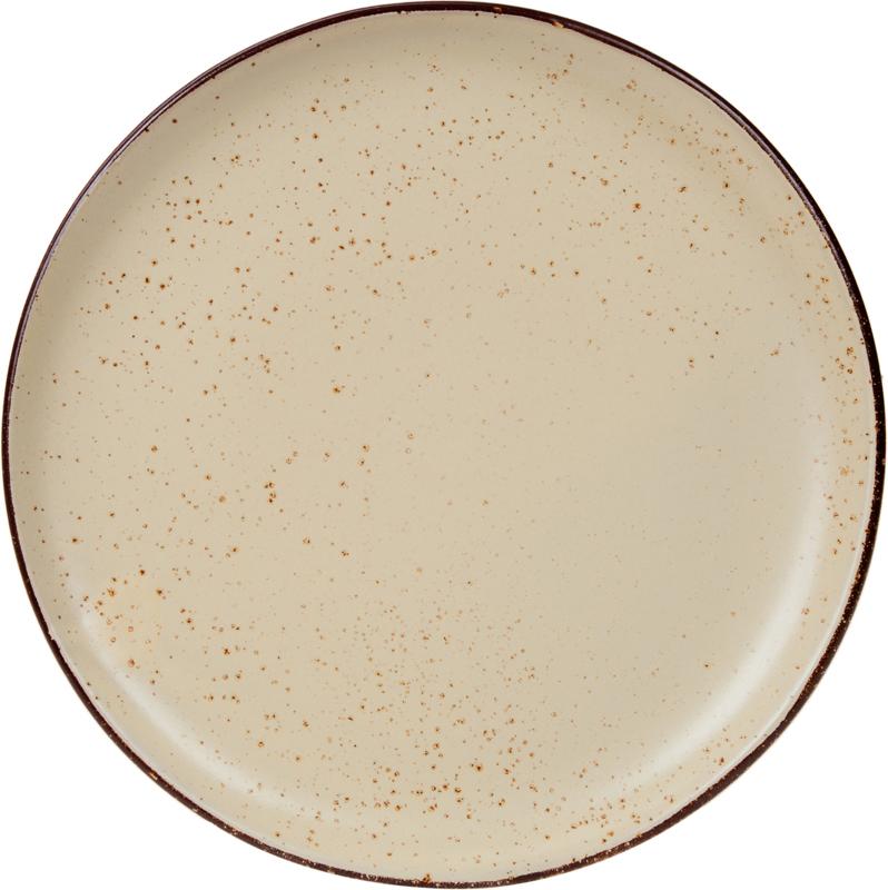"Тарелка десертная De Silva ""Рустико Марроне"", диаметр 23 см"