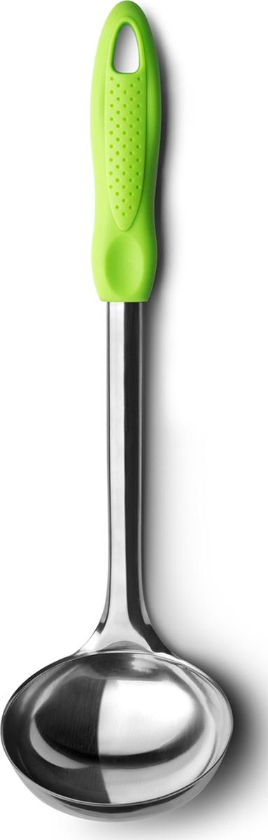 Половник Atmosphere Веселая кухня , цвет: зеленый дуршлаг atmosphere веселая кухня силикон цвет зеленый