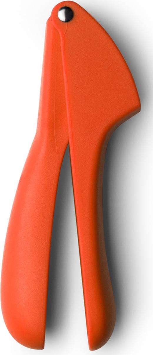 """Пресс для чеснока Atmosphere """"Веселая кухня"""" , цвет: оранжевый"""