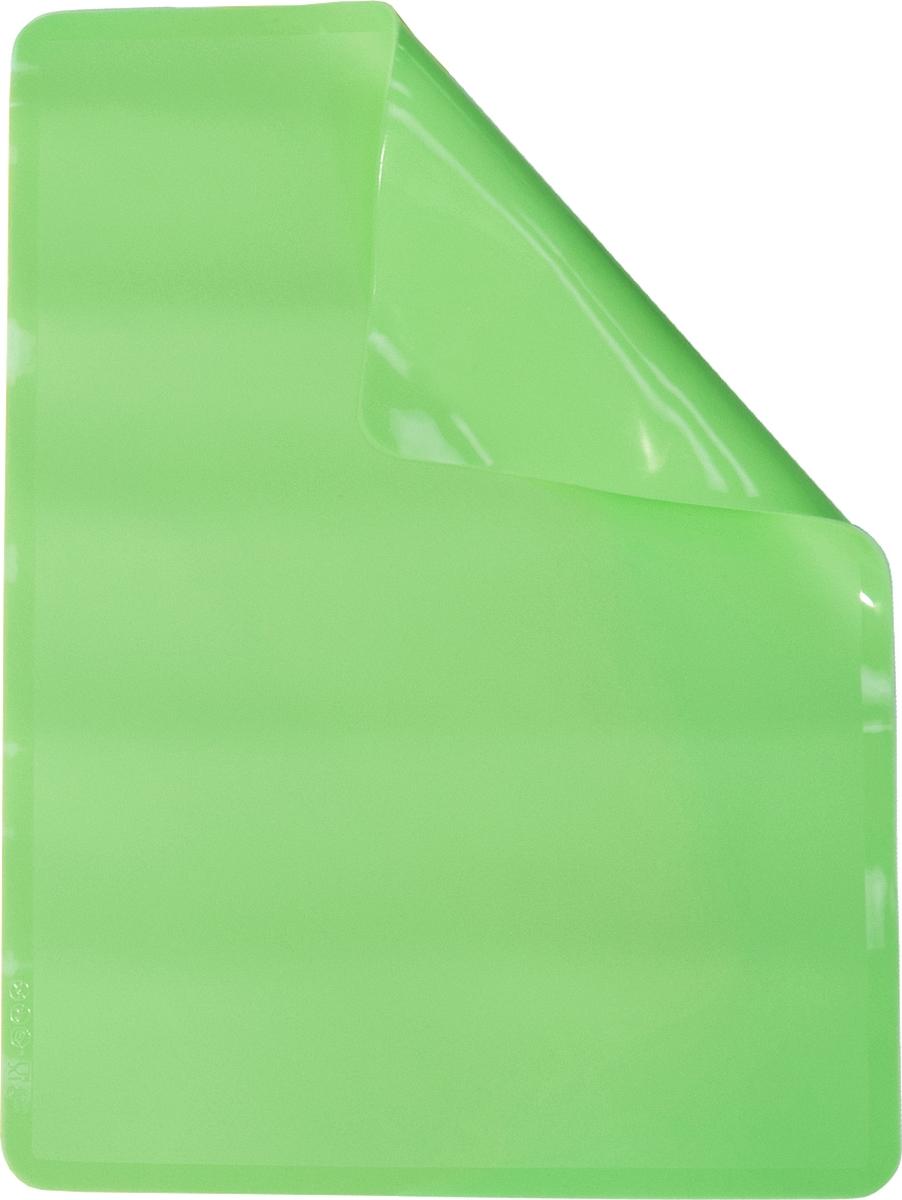 """Мат силиконовый для выпечки Atmosphere """"Toscana"""", 38 x 28 см, цвет: зеленый"""