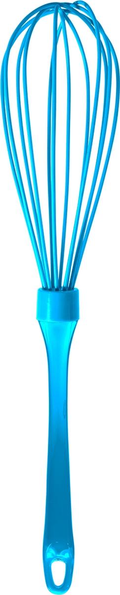 """Венчик Atmosphere """"Neon"""", силиконовый, цвет: голубой"""