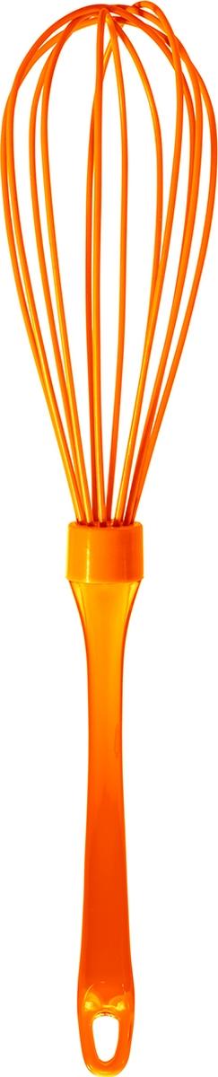 """Венчик Atmosphere """"Neon"""", силиконовый, цвет: оранжевый"""