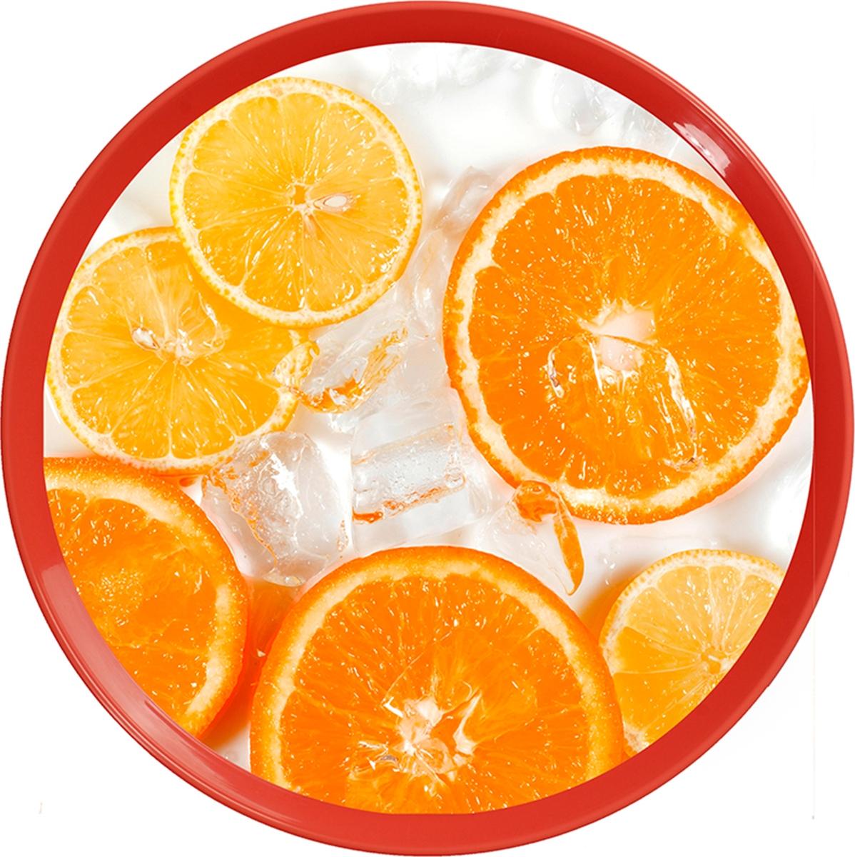 Поднос Sagad, 35 см, цвет: апельсин поднос sagad 35 см цвет орхидеи