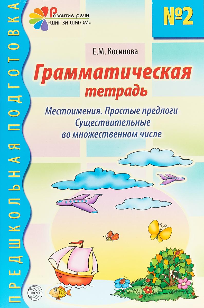 Грамматическая тетрадь №2 для занятий с дошкольниками