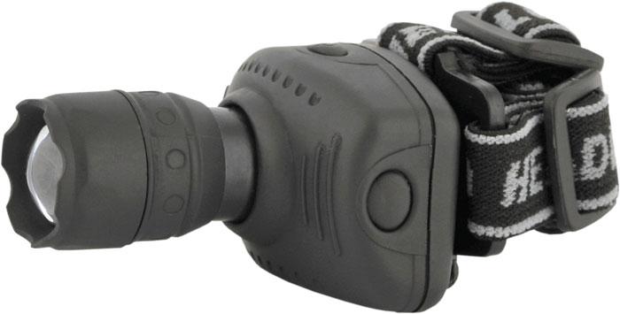 Налобный фонарь Ultraflash LED5354, серый фонарь налобный ultraflash led5351 серебристый