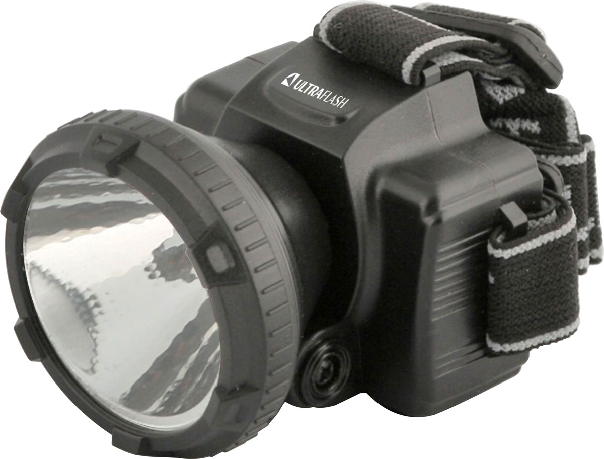 Налобный фонарь Ultraflash LED5366, черный фонарь налобный ultraflash led5351 серебристый