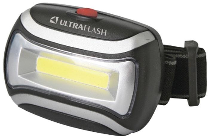 Налобный фонарь Ultraflash LED5380, черный фонарь налобный ultraflash led5351 серебристый