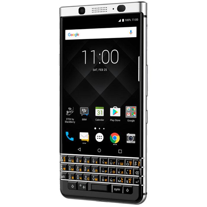 Смартфон BlackBerry KeyOne 32 GB, серебристый blackberry smoke amsterdam