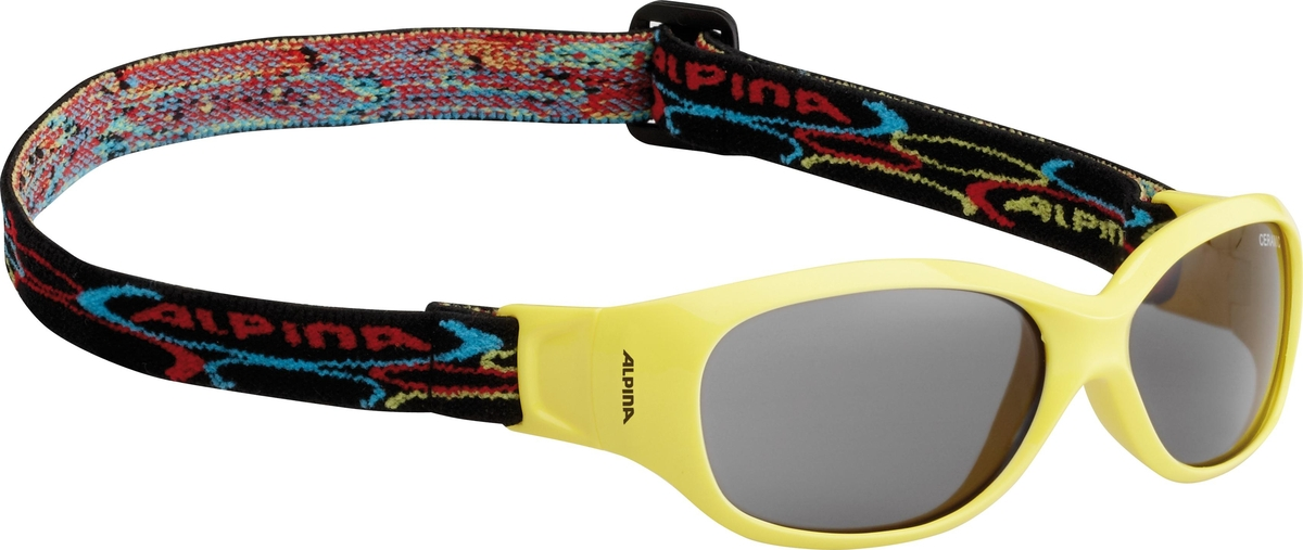 Велосипедные очки Alpina Sports Flexxy Kids, цвет оправы: желтый велосипедные очки alpina a 107 p цвет оправы черный