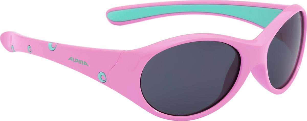 Велосипедные очки Alpina Flexxy Girl, цвет оправы: розовый. 4003692220745