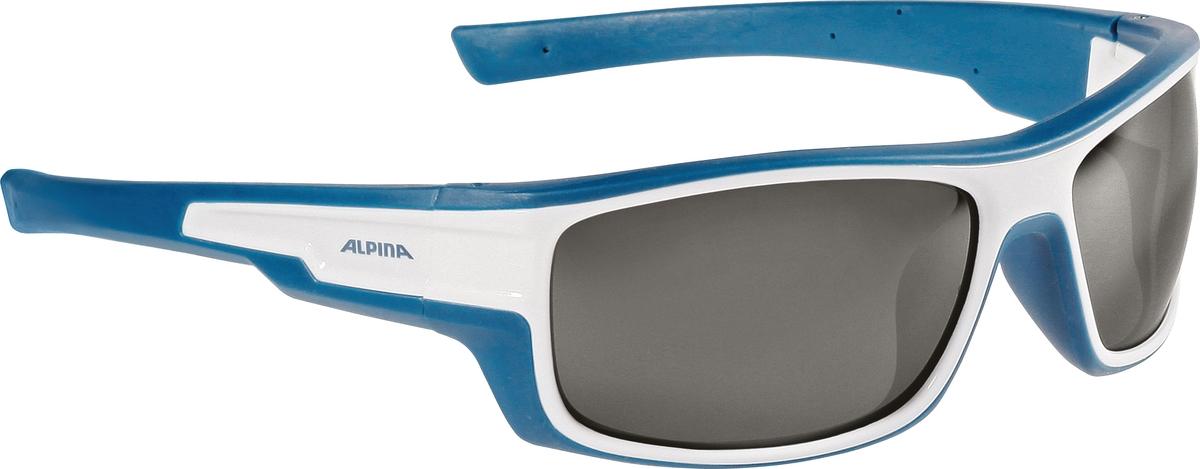 Велосипедные очки Alpina Chill Ice Cm+, цвет оправы: белый, синий велосипедные очки alpina a 107 p цвет оправы черный