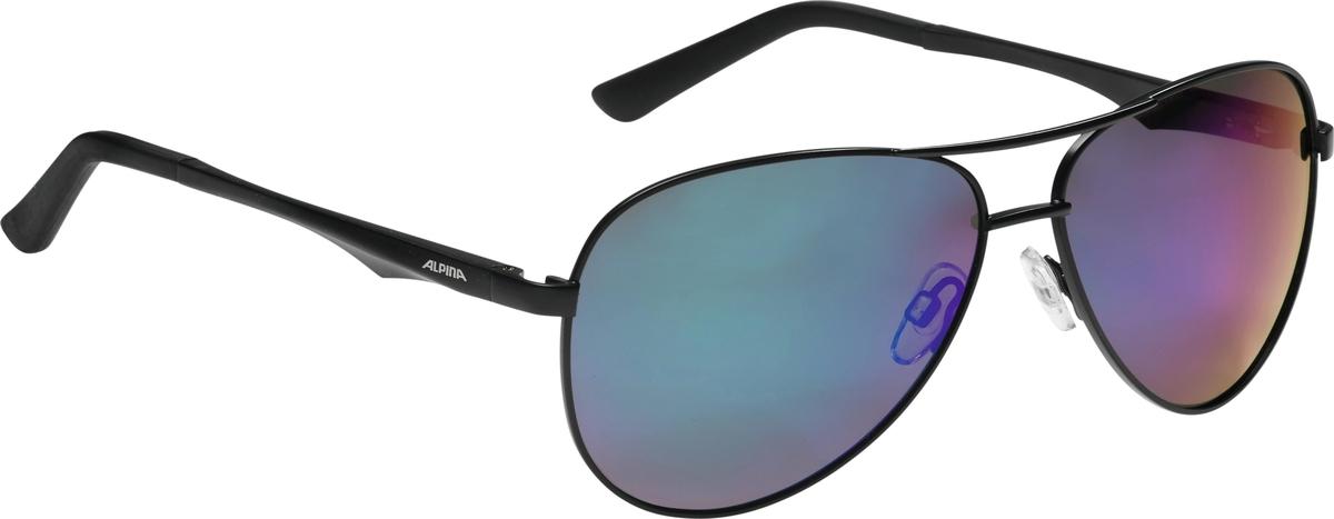 Велосипедные очки Alpina A 107 P, цвет оправы: черный велосипедные очки alpina a 107 p цвет оправы черный