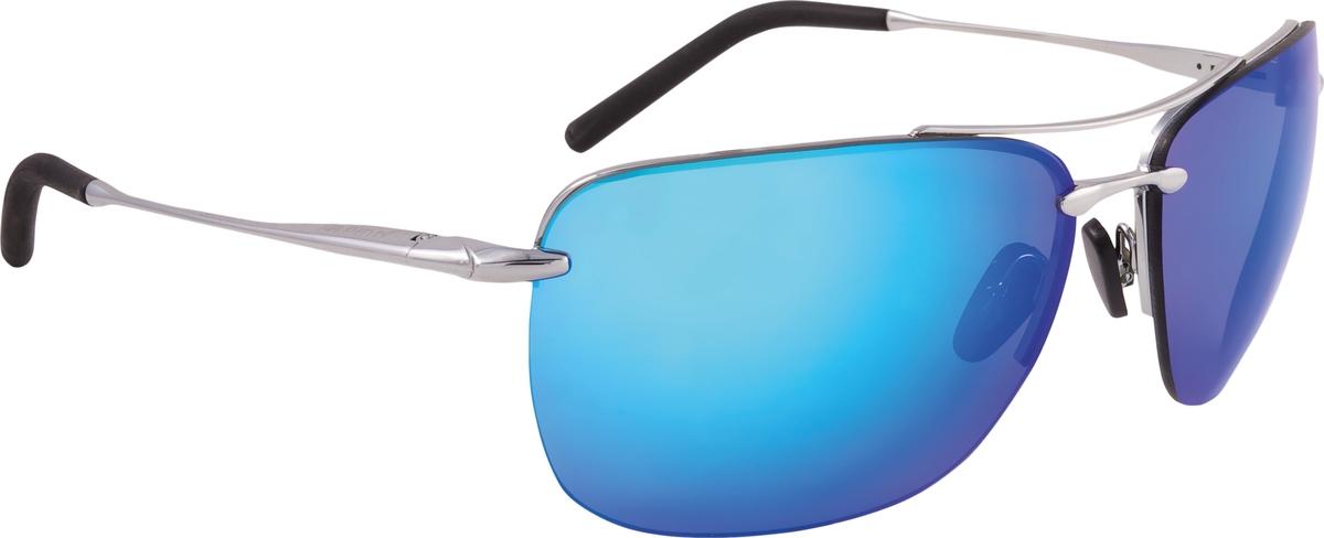 Велосипедные очки Alpina Cluu, цвет оправы: серебристый
