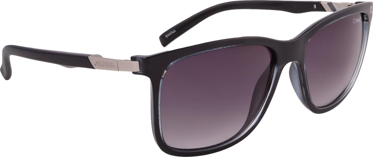 Велосипедные очки Alpina Bakina, цвет оправы: черный велосипедные очки alpina a 107 p цвет оправы черный
